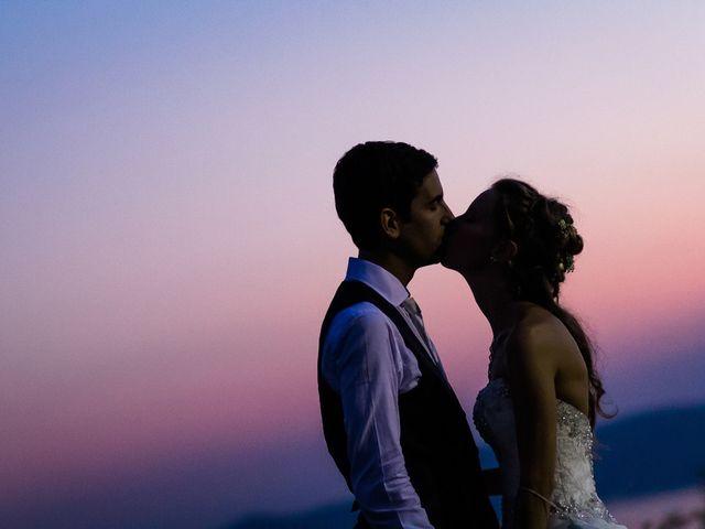 Il matrimonio di Larry e Giulia a Besozzo, Varese 15