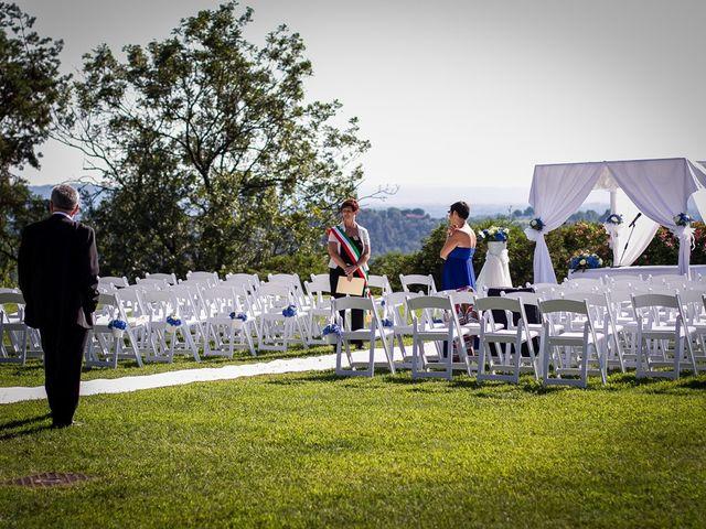 Il matrimonio di Larry e Giulia a Besozzo, Varese 23