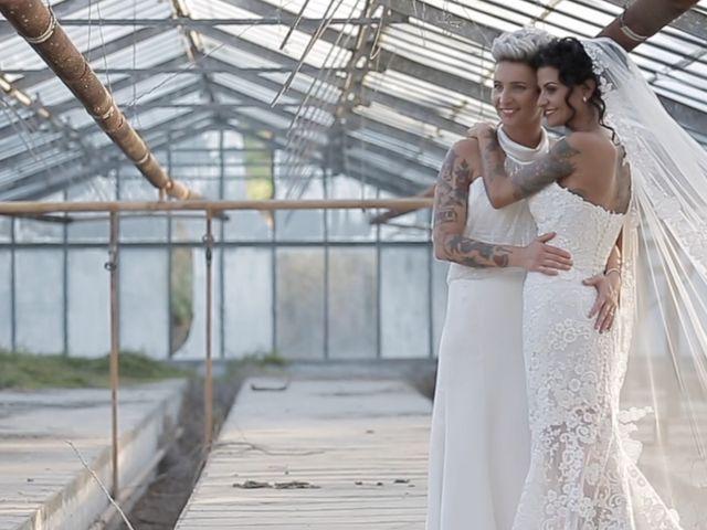 Le nozze di Veronica e Serena