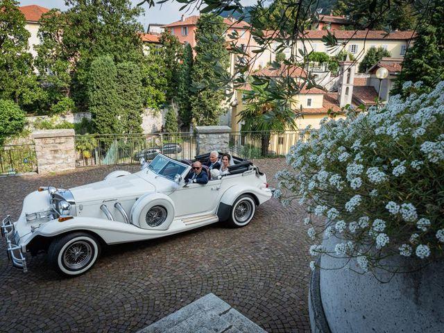 Il matrimonio di Fabio e Ilaria a Laveno-Mombello, Varese 19