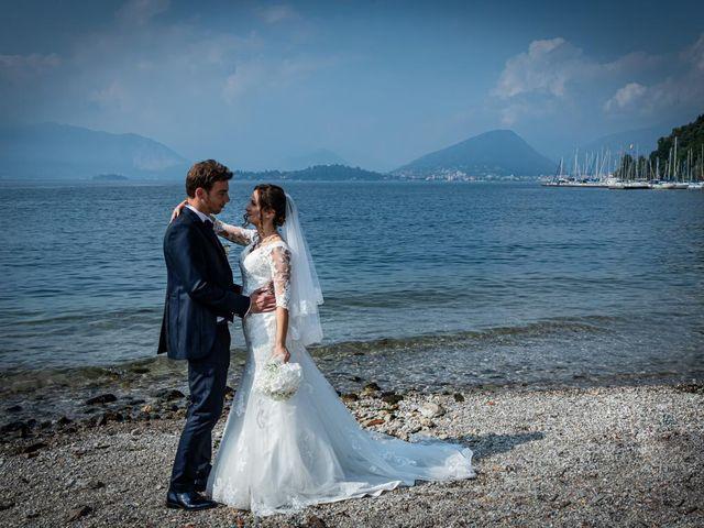 Il matrimonio di Fabio e Ilaria a Laveno-Mombello, Varese 29