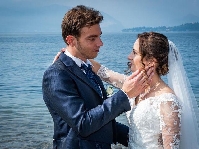 Il matrimonio di Fabio e Ilaria a Laveno-Mombello, Varese 30