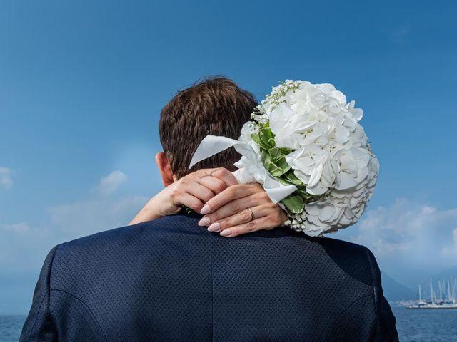 Il matrimonio di Fabio e Ilaria a Laveno-Mombello, Varese 31