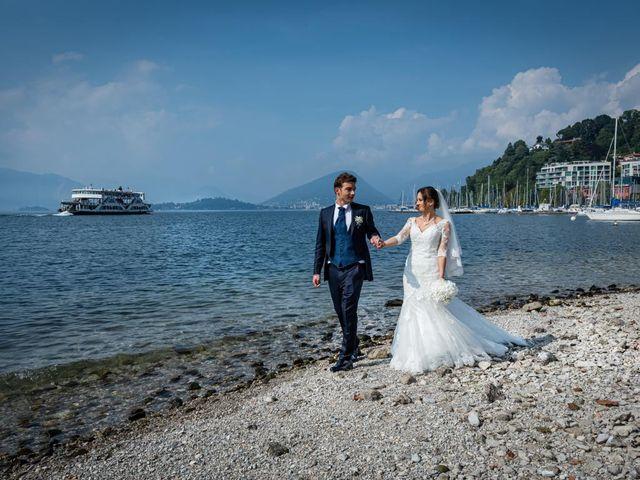 Il matrimonio di Fabio e Ilaria a Laveno-Mombello, Varese 32