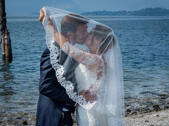 Il matrimonio di Fabio e Ilaria a Laveno-Mombello, Varese 33