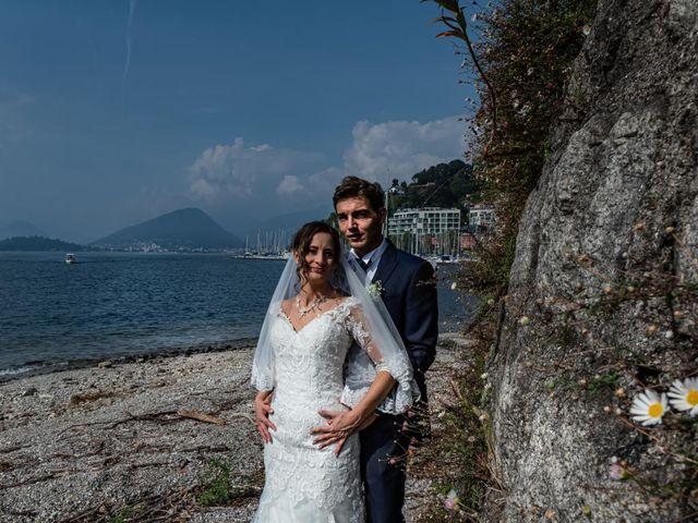 Il matrimonio di Fabio e Ilaria a Laveno-Mombello, Varese 34