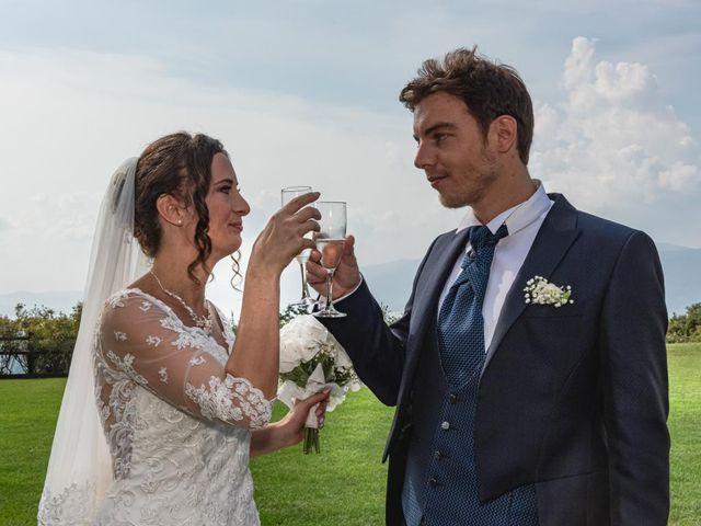 Il matrimonio di Fabio e Ilaria a Laveno-Mombello, Varese 35