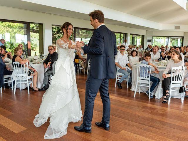Il matrimonio di Fabio e Ilaria a Laveno-Mombello, Varese 39