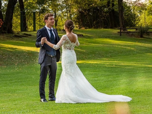 Il matrimonio di Fabio e Ilaria a Laveno-Mombello, Varese 51