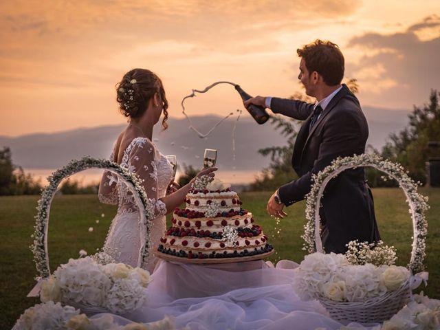 Il matrimonio di Fabio e Ilaria a Laveno-Mombello, Varese 59