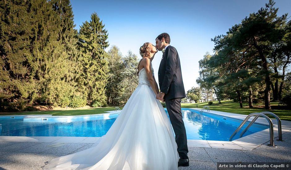Il matrimonio di Larry e Giulia a Besozzo, Varese