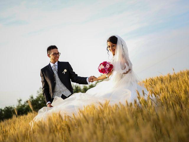 le nozze di Miriana e Manuel