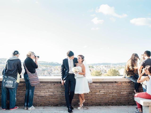 Il matrimonio di Luciano e Giulia a Roma, Roma 68