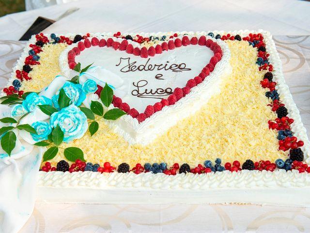 Il matrimonio di Luca e Federica a Cislago, Varese 23