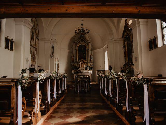 Il matrimonio di Carmen e Ferdinand a Selva di Val Gardena-Wolkenstein in, Bolzano 34