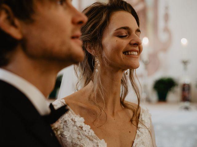 Il matrimonio di Carmen e Ferdinand a Selva di Val Gardena-Wolkenstein in, Bolzano 45
