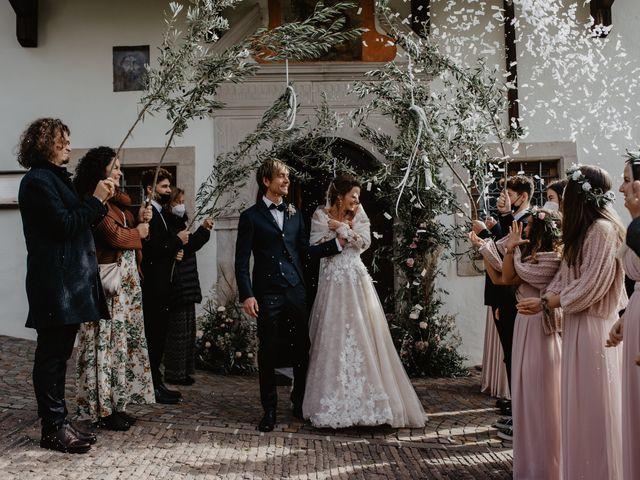 Il matrimonio di Carmen e Ferdinand a Selva di Val Gardena-Wolkenstein in, Bolzano 48