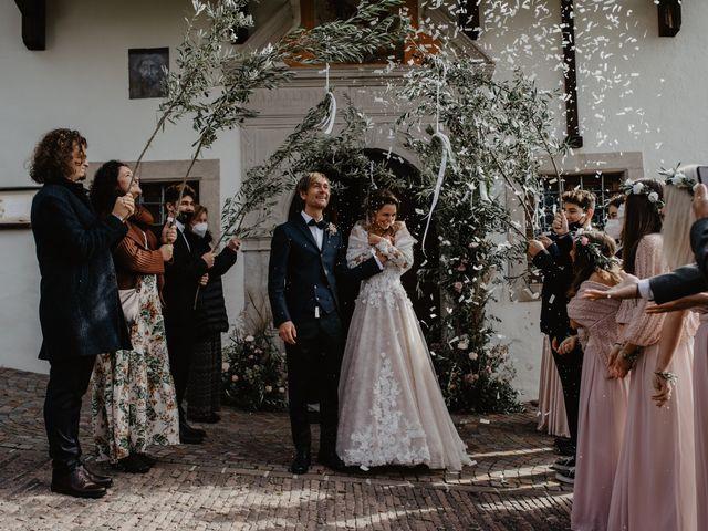 Il matrimonio di Carmen e Ferdinand a Selva di Val Gardena-Wolkenstein in, Bolzano 49