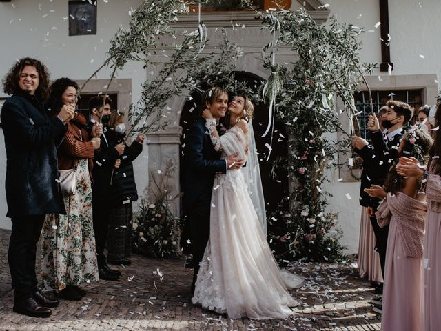 Il matrimonio di Carmen e Ferdinand a Selva di Val Gardena-Wolkenstein in, Bolzano 50