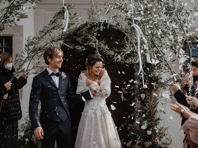 Il matrimonio di Carmen e Ferdinand a Selva di Val Gardena-Wolkenstein in, Bolzano 51