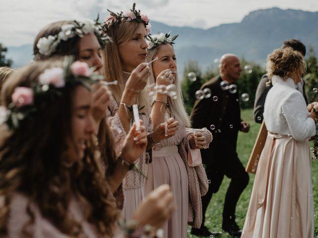 Il matrimonio di Carmen e Ferdinand a Selva di Val Gardena-Wolkenstein in, Bolzano 52