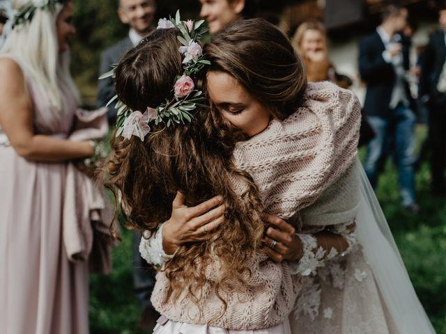 Il matrimonio di Carmen e Ferdinand a Selva di Val Gardena-Wolkenstein in, Bolzano 53