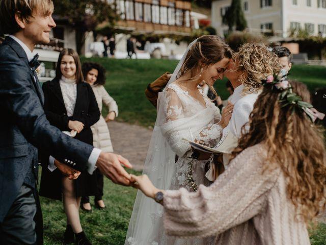 Il matrimonio di Carmen e Ferdinand a Selva di Val Gardena-Wolkenstein in, Bolzano 55
