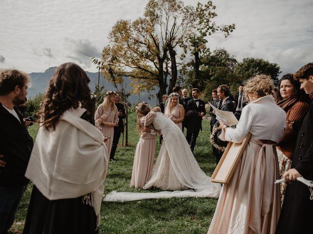 Il matrimonio di Carmen e Ferdinand a Selva di Val Gardena-Wolkenstein in, Bolzano 57