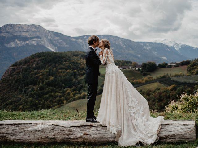 Il matrimonio di Carmen e Ferdinand a Selva di Val Gardena-Wolkenstein in, Bolzano 61