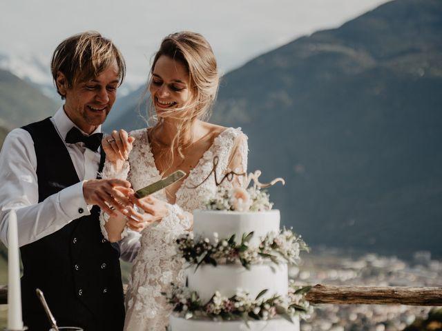 Il matrimonio di Carmen e Ferdinand a Selva di Val Gardena-Wolkenstein in, Bolzano 77