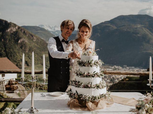 Il matrimonio di Carmen e Ferdinand a Selva di Val Gardena-Wolkenstein in, Bolzano 78