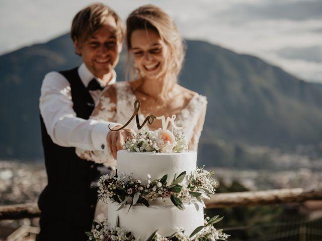Il matrimonio di Carmen e Ferdinand a Selva di Val Gardena-Wolkenstein in, Bolzano 79