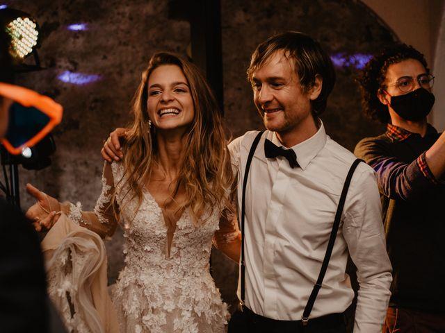 Il matrimonio di Carmen e Ferdinand a Selva di Val Gardena-Wolkenstein in, Bolzano 99