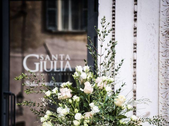 Il matrimonio di Gauthier e Mariachiara a Brescia, Brescia 21