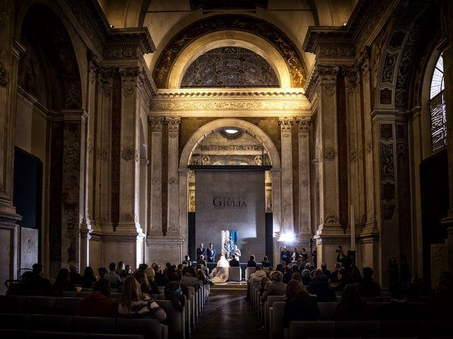 Il matrimonio di Gauthier e Mariachiara a Brescia, Brescia 34
