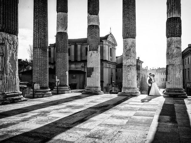 Il matrimonio di Gauthier e Mariachiara a Brescia, Brescia 57