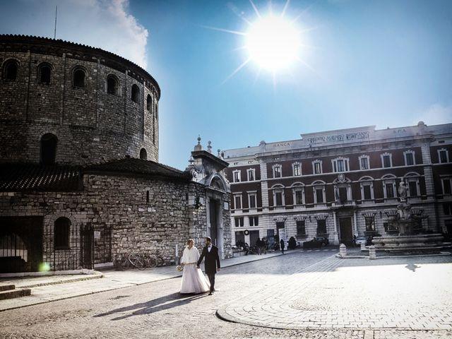 Il matrimonio di Gauthier e Mariachiara a Brescia, Brescia 63