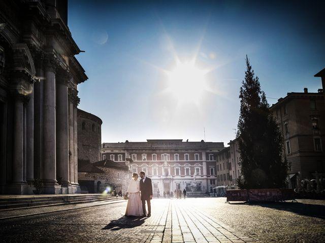 Il matrimonio di Gauthier e Mariachiara a Brescia, Brescia 65