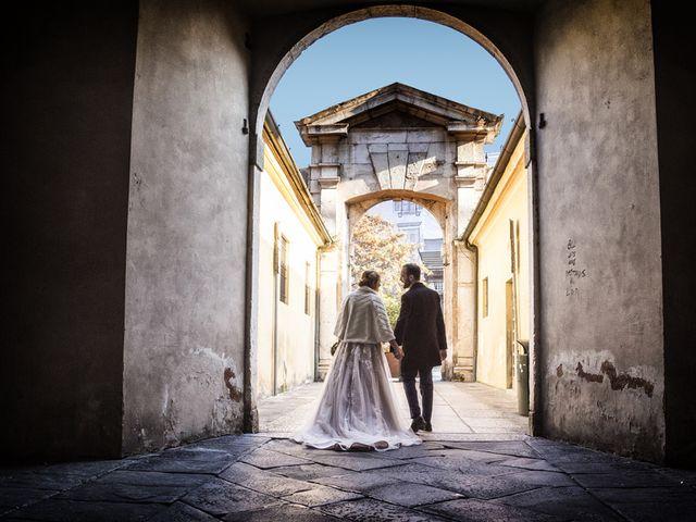 Il matrimonio di Gauthier e Mariachiara a Brescia, Brescia 68