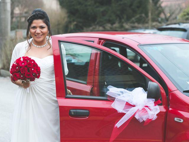 Il matrimonio di Moreno e Kenia a Briosco, Monza e Brianza 19