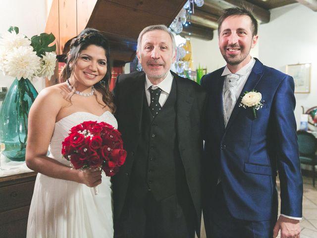 Il matrimonio di Moreno e Kenia a Briosco, Monza e Brianza 74