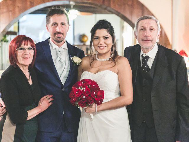 Il matrimonio di Moreno e Kenia a Briosco, Monza e Brianza 108
