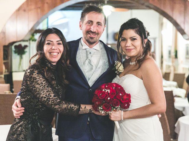 Il matrimonio di Moreno e Kenia a Briosco, Monza e Brianza 115