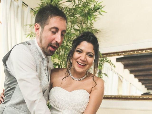 Il matrimonio di Moreno e Kenia a Briosco, Monza e Brianza 125