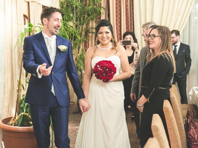Il matrimonio di Moreno e Kenia a Briosco, Monza e Brianza 132