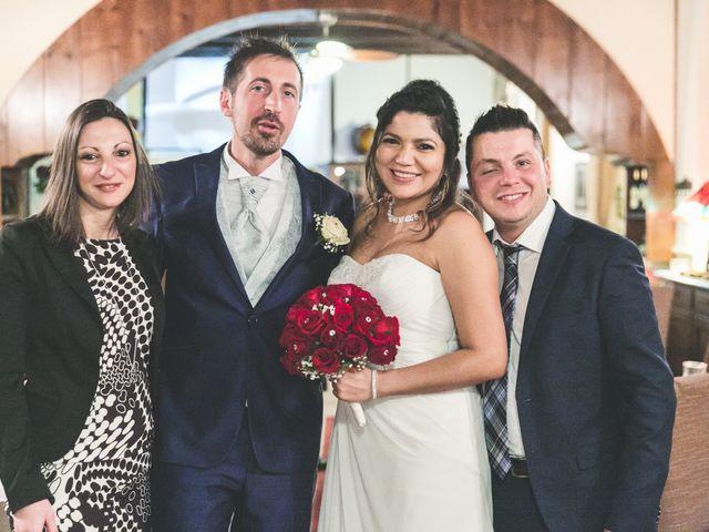 Il matrimonio di Moreno e Kenia a Briosco, Monza e Brianza 138