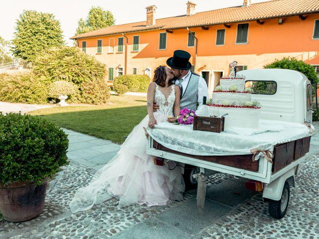 Il matrimonio di Sebastiano e Chiara a Cilavegna, Pavia 35