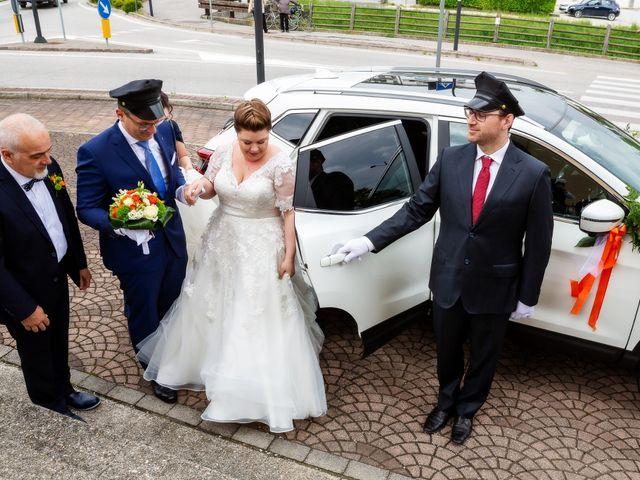 Il matrimonio di Matteo e Jennifer a Chiarano, Treviso 14