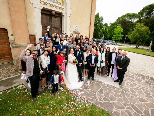 Il matrimonio di Matteo e Jennifer a Chiarano, Treviso 27