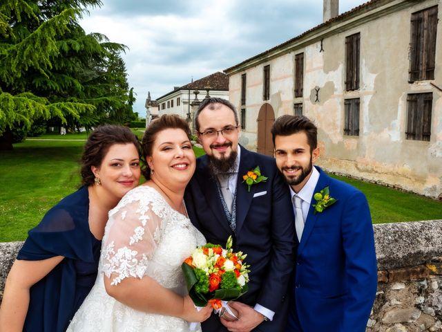 Il matrimonio di Matteo e Jennifer a Chiarano, Treviso 41